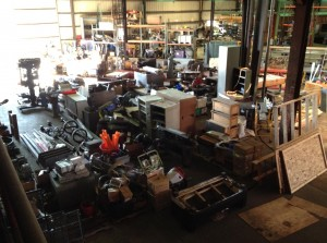 A view of KSW's new shop space